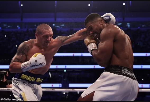 RematchApproved: Anthony Joshua Vs Oleksandr Usyk rematch is all set