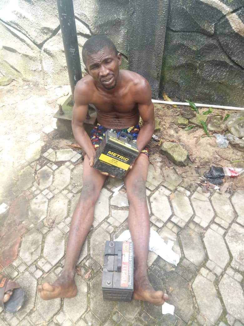 Two men who specialize in stealing and selling car batteries, copper wires arrested in Bayelsa