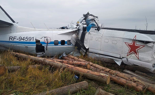 16 people killed after Plane crashes in Russia