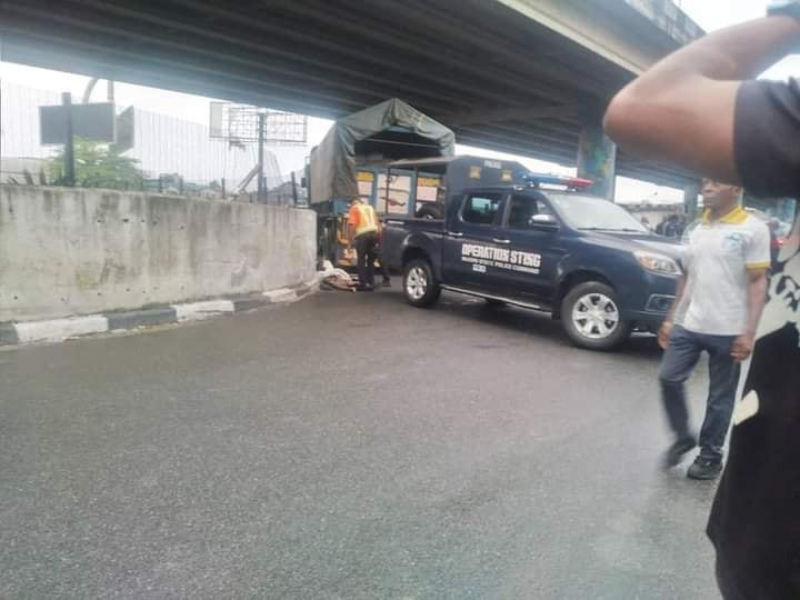 """?I want to see their killer"""" - Woman demands justice as she gives birth to baby girl days after her two children were killed by truck driver in Port Harcourt"""