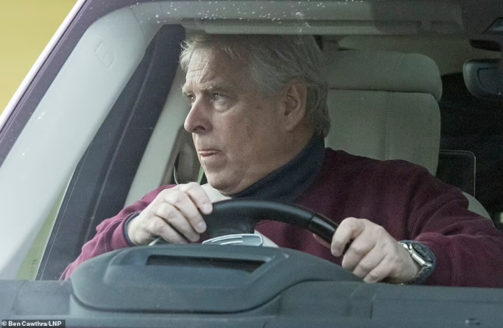 Prince Andrew seen for first time after Met Police dropped probe into sexual abuse allegations