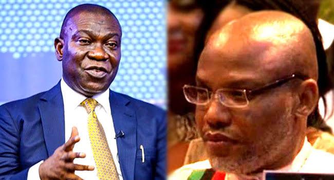 We are working on Nnamdi Kanu?s release ? Ike Ekweremadu assures