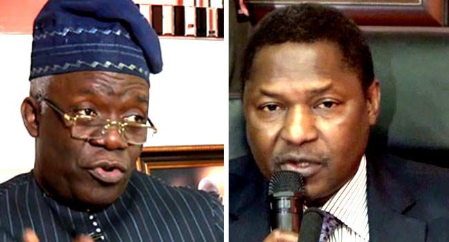 Femi Falana asks AGF Malami to enforce $62 billion debt owed by six international oil companies after supreme Court judgement