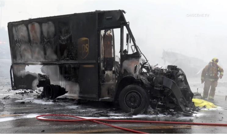 At least 2 dead as plane crashes into UPS truck in Southern California neighbourhood