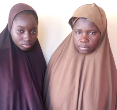 Widow and daughter kidnapped in Adamawa state rescued (photos)