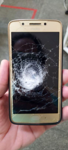 Man dodges death after his phone case blocked a bullet fired at him