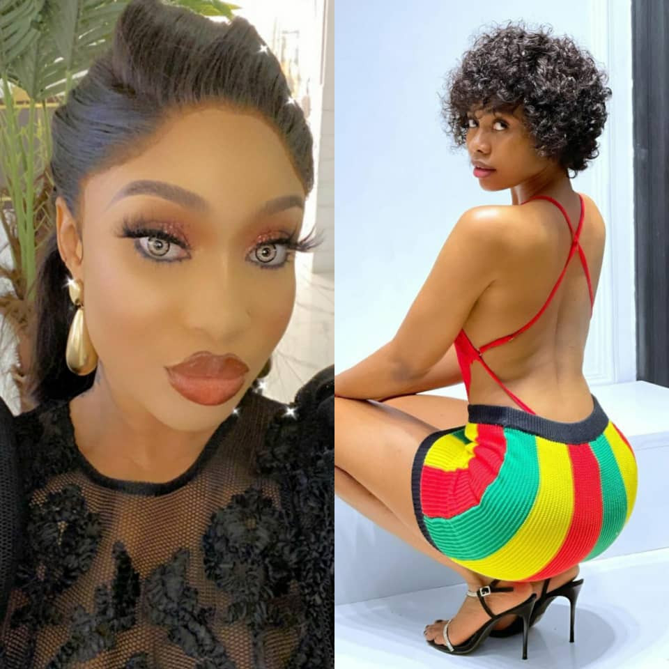 Sex tape allegation: You can?t be begging me behind the scene to save your marriage and then come with a petition. See you in court - Tonto Dikeh tells Janemena