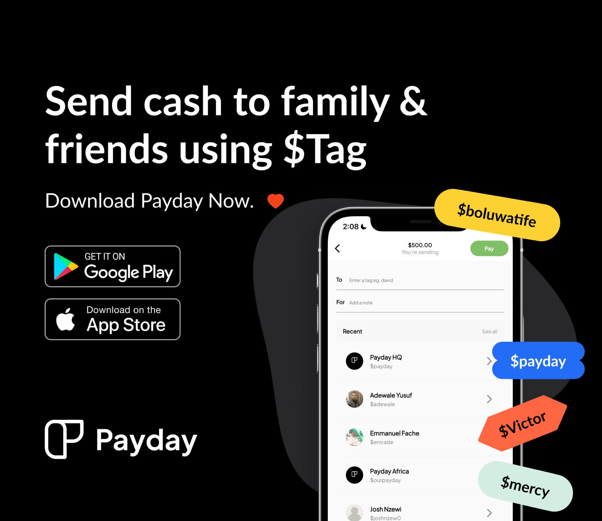 PayDay raises $1m pre-seed fund to build the PayPal for Africa