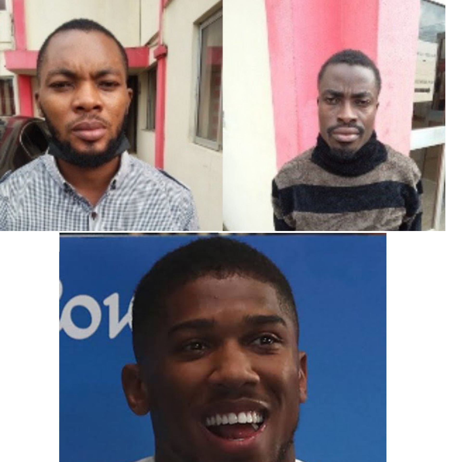 EFCC arraigns two alleged fraudsters for impersonating Anthony Joshua to defraud two British ladies of ?15,000
