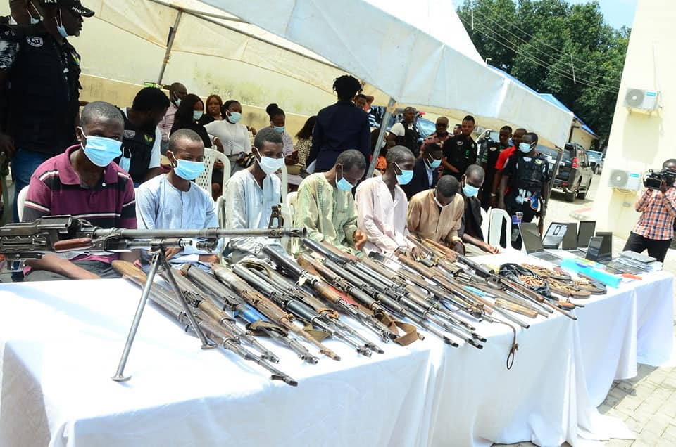 Police arrest two abductors of Kaduna Catholic priest, 45 other crime suspects