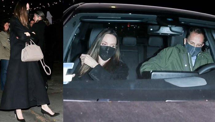 Angelina Jolie enjoys dinner date with ex-husband Jonny Lee Miller amid romance rumours with The Weeknd (photos)