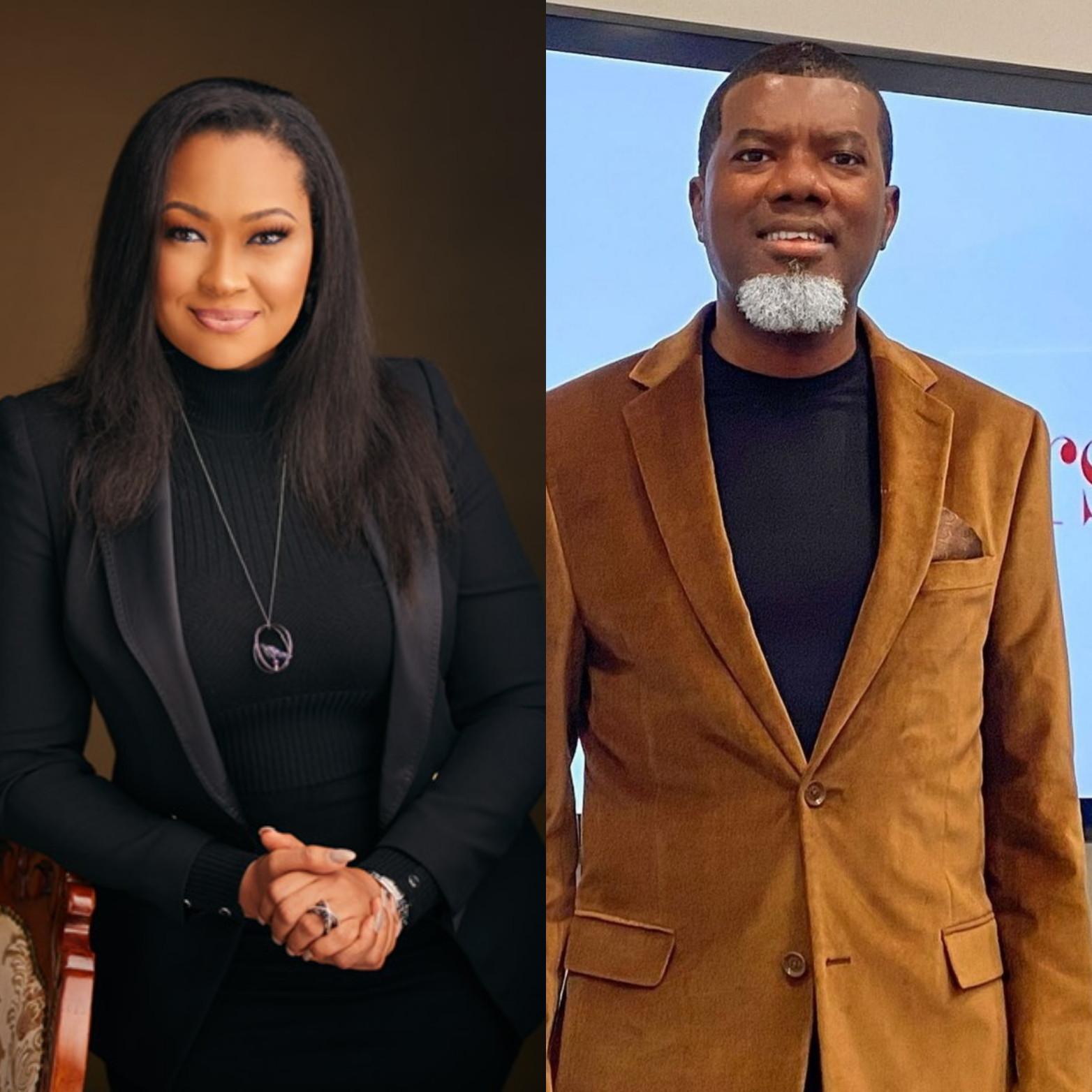 Politician Natasha Akpoti accuses Reno of Omokri of making advances at her despite his marital status; he responds