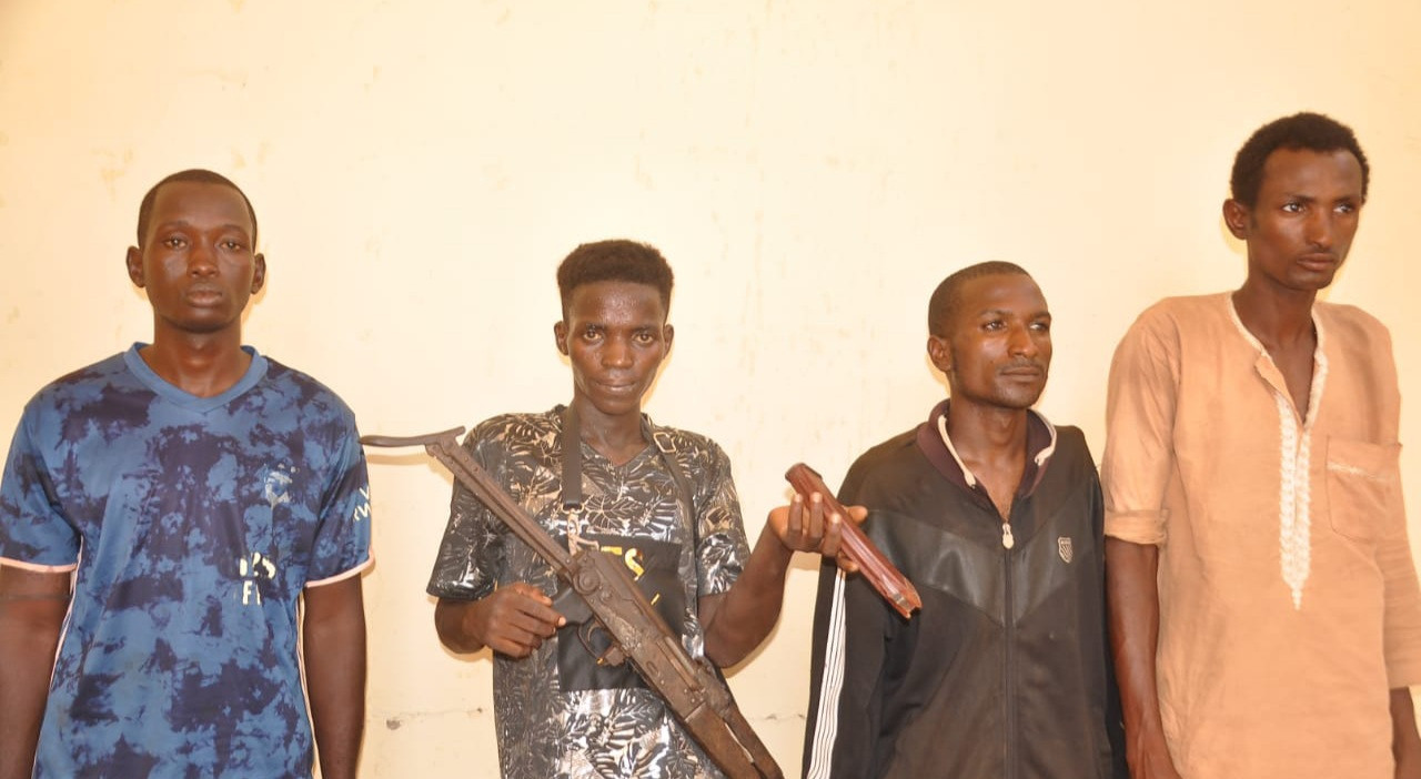 Police arrest four members of notorious gang behind the kidnap of widow, her daughter and attack on police station in Adamawa