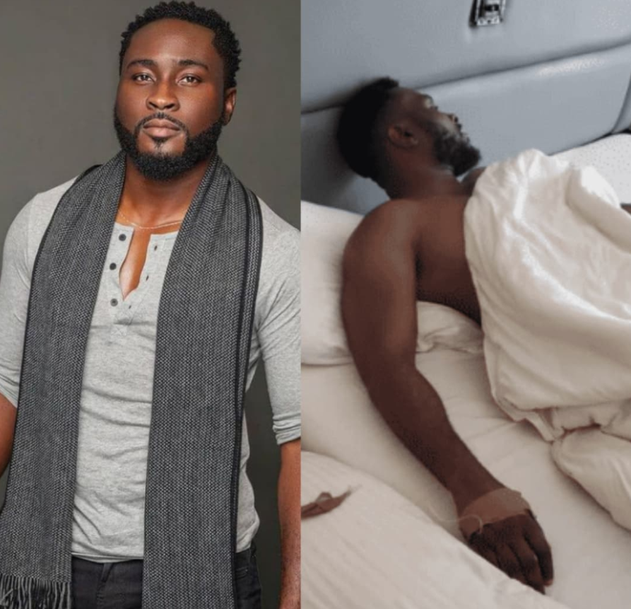BBNaija's Pere hospitalized 11 days after the reality show was concluded (video)