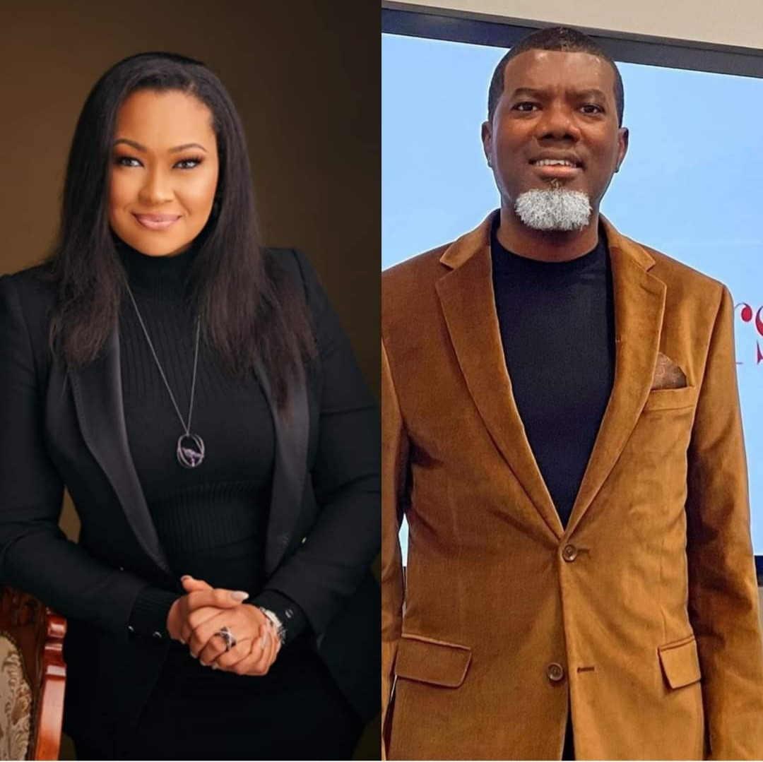 Natasha Akpoti pokes holes in the evidence Reno Omokri shared as proof he wasn't in Nigeria when she said he made passes at her (video)