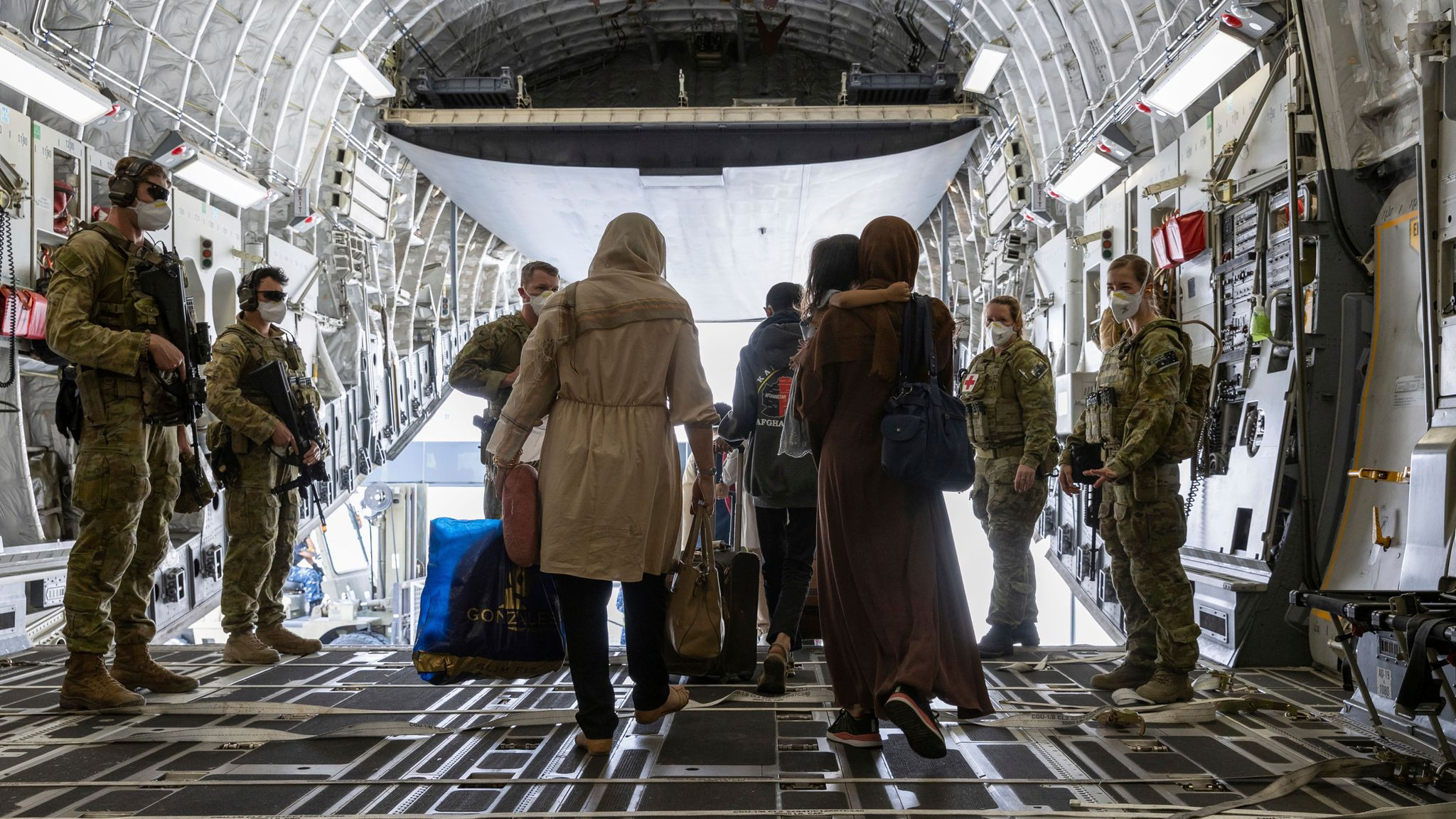 100 Afghanistan footballers and families evacuated by Australia out of Taliban control