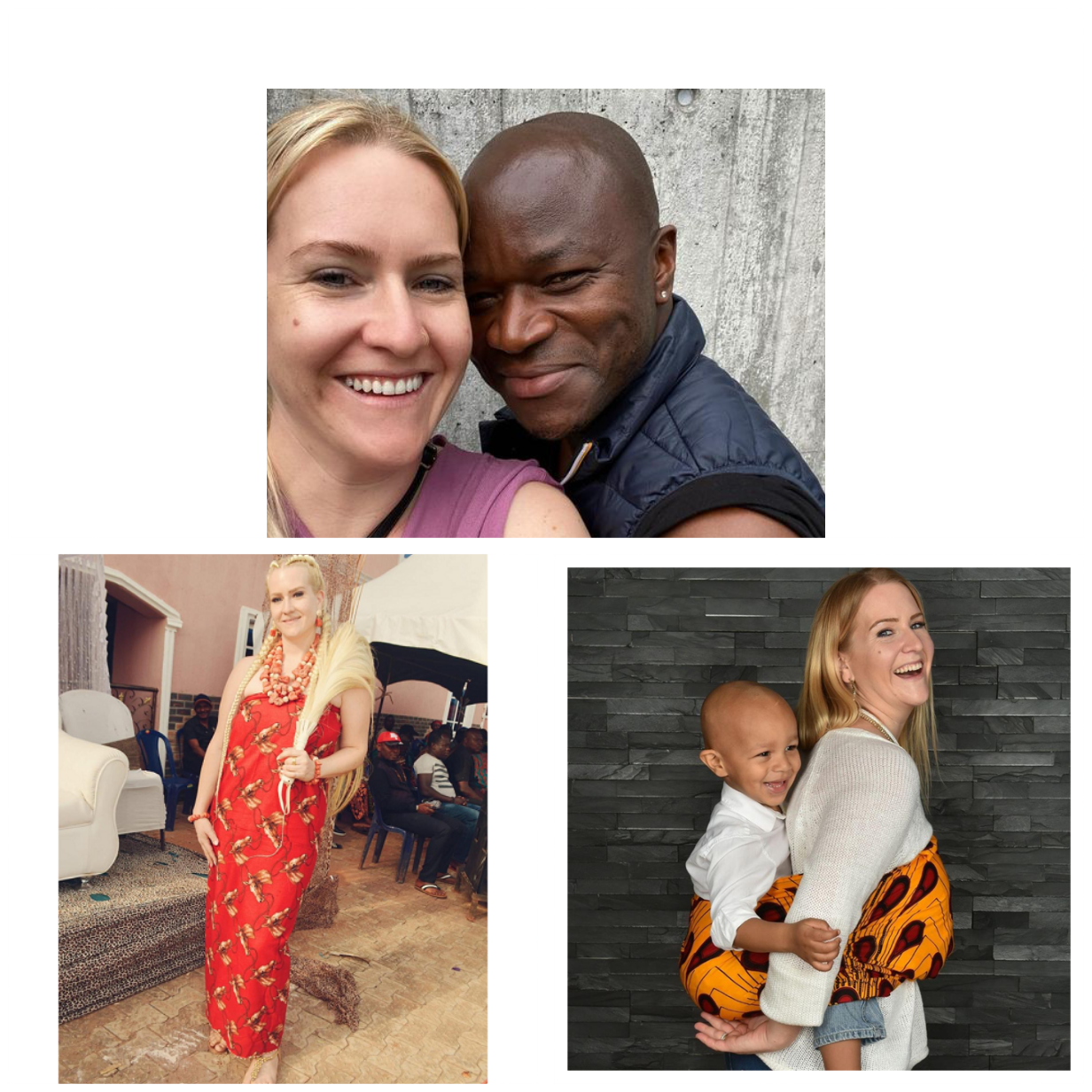 """""""In Ala Igbo the king chooses whom he crowns his queen"""" - Swiss woman married to a Nigerian addresses black women accusing her of"""