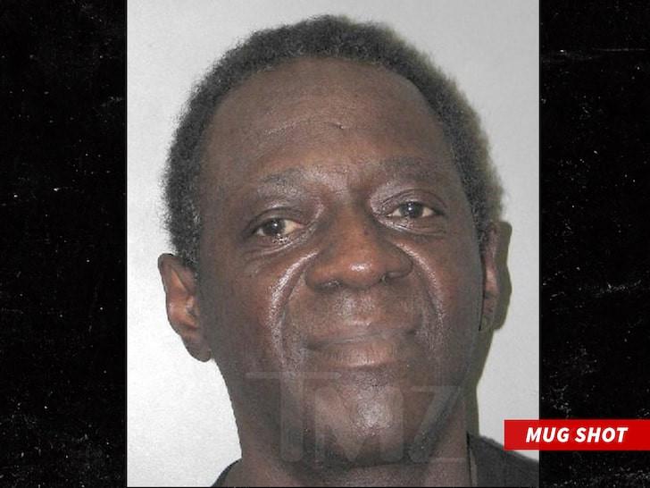 Rapper?Flavor Flav arrested for domestic battery in Las Vegas (Mug shot)