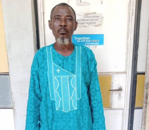 NSCDC arraigns 61-year-old man for allegedly raping 15-year-old girl